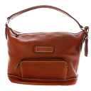 Authentic Longchamp  Press logo type Shoulder Bag Synthetic leather