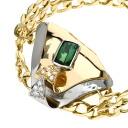 2.222ct Tourmaline Bracelet 18K yellow gold PT900 46.7