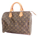 Authentic LOUIS VUITTON  Speedy 30 M41527 Boston bag Monogram canvas