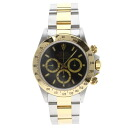 Authentic ROLEX Cosmograph Daytona 16523 Watch Stainless 18K Yellow Gold an automatic Men