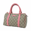 Authentic GUCCI  GG Handbag PVC canvas