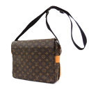 Authentic LOUIS VUITTON  Naviglio special order M50205 Shoulder Bag Monogram canvas