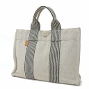 Authentic HERMES  Sac · Furuto~u PM Tote Bag Canvas
