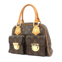 Authentic LOUIS VUITTON  Manhattan M40026 Handbag Monogram canvas