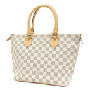 Authentic LOUIS VUITTON  Saleya PM N51186 Handbag Damier canvas