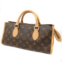 Authentic LOUIS VUITTON  Popankuru M40009 Shoulder Bag Monogram canvas