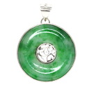 Jade Pendant top PM Platinum 900  8.4
