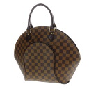 Authentic LOUIS VUITTON  Ellipse MM N4806 Handbag Damier canvas
