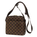 Authentic LOUIS VUITTON  Olaf PM N41442 Long Shoulder Shoulder Bag Damier canvas