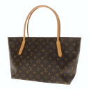Authentic LOUIS VUITTON  Raspail PM M40608 Handbag Monogram canvas