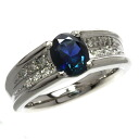 0.15ct Sapphire Ring PlatinumPT900  Eleven