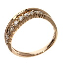 0.3ct Diamond Ring 18K pink gold  3.2