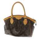 Authentic LOUIS VUITTON  Tivoli PM M40143 Handbag Monogram canvas