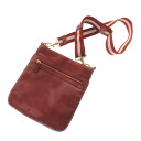 Authentic BALLY  Stitch stripe pattern Shoulder Bag Leather