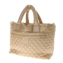 Authentic CHANEL  Coco Cocoon TGM Tote Bag Calf