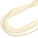 Authentic MIKIMOTO  Pearl Necklace 18K yellow gold