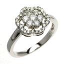 0.45ct Diamond Ring 18K White Gold  3.2
