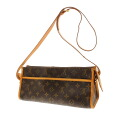 Authentic LOUIS VUITTON  Popankuru Ron M40008 Shoulder Bag Monogram canvas