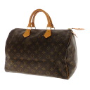 Authentic LOUIS VUITTON  Speedy 35 M41524 Handbag Monogram canvas
