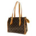 Authentic LOUIS VUITTON  Popankuru Oh M40007 Shoulder Bag Monogram canvas