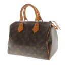 Authentic LOUIS VUITTON  Speedy 25 M41528 Shoulder Bag Monogram canvas