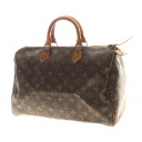 35 LOUIS VUITTON speedy M41524 handbag monogram canvas Lady's fs04gm