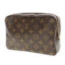 Authentic LOUIS VUITTON  Trousse Toilette 23 M47524 Cosmetics Pouch Monogram canvas
