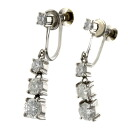 SELECT JEWELRY diamond earrings platinum PT850 Lady's fs04gm