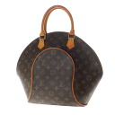Authentic LOUIS VUITTON  Ellipse MM M51126 Handbag Monogram canvas