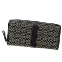 Authentic COACH  Mini signature pattern (With Coin Pocket) Long Wallet Leather x campus