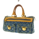 Authentic LOUIS VUITTON  Neo Speedy M95019 Handbag Monogram Denim