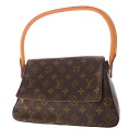 Authentic LOUIS VUITTON  Miniruhi ° ring Shoulder Bag Monogram canvas