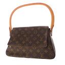 Authentic LOUIS VUITTON  Miniruhi ° ring Shoulder Bag Monogram canvas