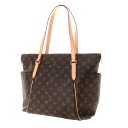 Authentic LOUIS VUITTON  Totari MM M56689 Shoulder Bag Monogram canvas