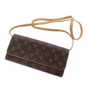 Authentic LOUIS VUITTON  Poshetotsuin GM M51852 Shoulder Bag Monogram canvas