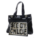 Authentic SEE BY CHLOE  Animal pattern Tote Bag Nylon material