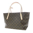 Authentic LOUIS VUITTON  Raspail PM M40608 Shoulder Bag Monogram canvas