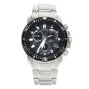 Authentic CITIZEN PMP56-3052 radio Promaster Watch Stainless  Eco Drive Men