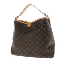 Authentic LOUIS VUITTON  Delightful MM M40353 Shoulder Bag Monogram canvas