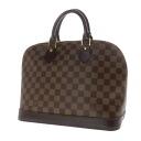 Authentic LOUIS VUITTON  Alma N51131 Handbag Damier canvas