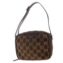Authentic GUCCI  2-layer pattern GG logo plate with Cosmetics Pouch GG canvas