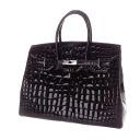 Authentic KATORINE  Hand Tote Handbag Crocodile
