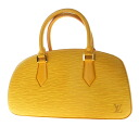 Authentic LOUIS VUITTON  Jasmine M52089 Handbag Epi Leather