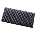 Authentic PATRICK COX  Lily crest pattern (With Coin Pocket) Long Wallet PVC