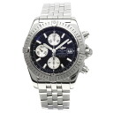 Authentic BREITLING Chronomat Evolution A13356 Overhauled Watch Stainless  an automatic Men