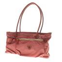 Authentic OROBIANCO  Ferishi logo Shoulder Bag Nylon x leather