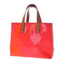 Authentic LOUIS VUITTON  M91903 fluoride fluorescent color lead PM Handbag Vernis