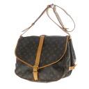 Authentic LOUIS VUITTON  Saumur L M42254 Shoulder Bag Monogram canvas