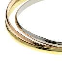 Authentic CARTIER  Trinity Bracelet 18K yellow gold 18K Pink Gold
