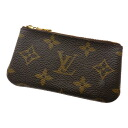 Authentic LOUIS VUITTON  Pochette · Cles M62650 Shoulder Bag Monogram canvas